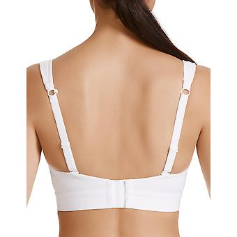 Berlei Ultimate Performance White Crop Top with Underwired Sports Bra Y599W