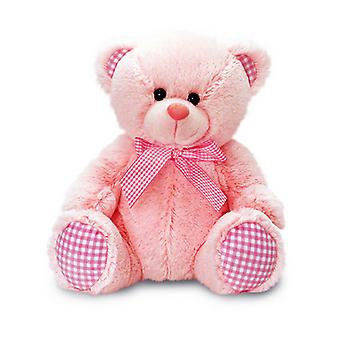 Keel Toys Nursery Gingham Teddy Bear