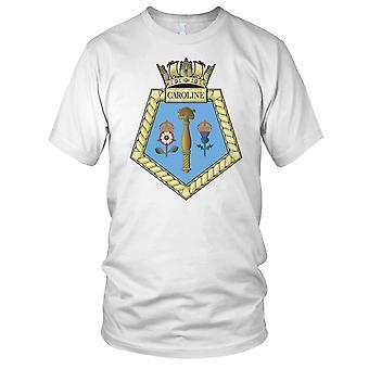 Royal Navy HMS Caroline Ladies T Shirt