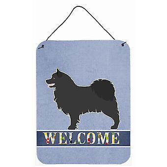 Swedish Lapphund Welcome Wall or Door Hanging Prints