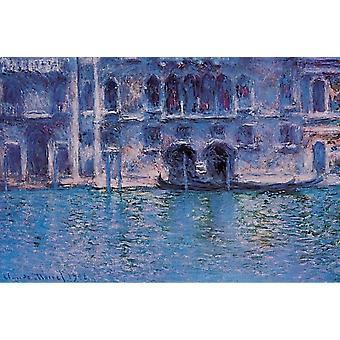 Monet Plazza Poster Print Venice Plazza Da Mula Poster Poster Print