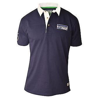 D555 Nash Tall Rugby Polo Shirt