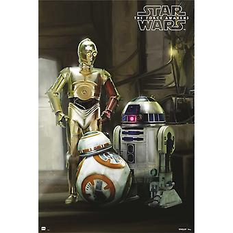 Star Wars Droids 2 Poster Poster Print