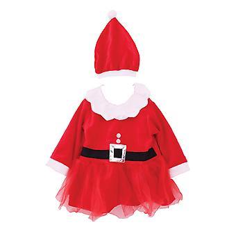 חג המולד חנות ילדים בנות סנטה להתלבש