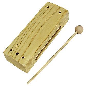 Bloque de madera una estrella con batidor