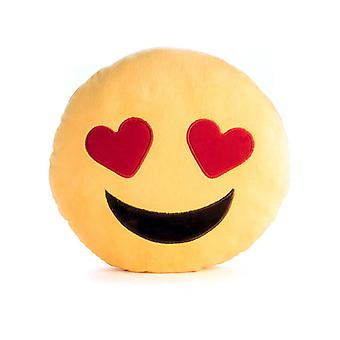 Love Emojiface Velour Cushion
