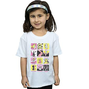 Disney Girls Tinkerbell Squares T-Shirt