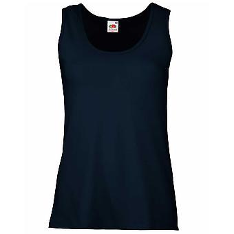 Fruit of the Loom Ladies Feminine Fit Sleeveless Vest T Shirt