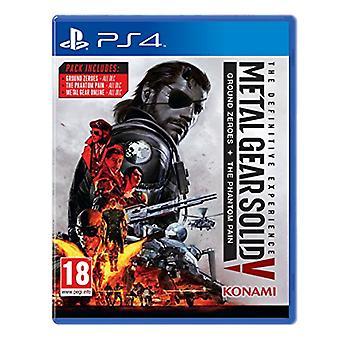 Metal Gear Solid V de ultieme ervaring (PS4)-nieuw