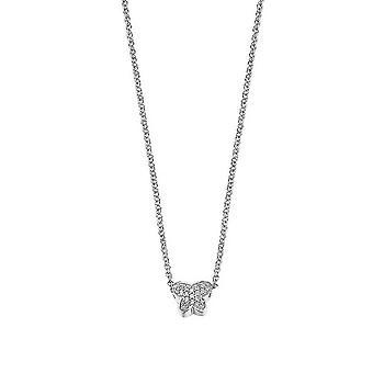 ESPRIT женщин цепи ожерелье серебро мало бабочка ESNL92156A420