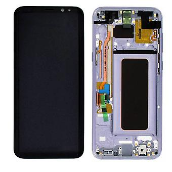 Display LCD complete set GH97-20470 C purple for Samsung Galaxy S8 plus G955 G955F