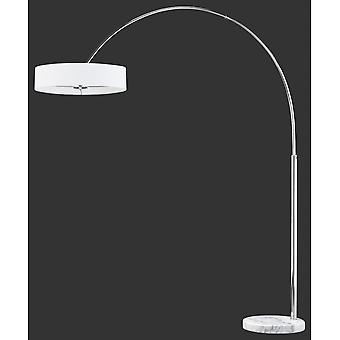 トリオ照明のペレス現代クロム金属のフロアランプ