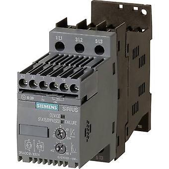 Siemens 3RW3018-1BB14 3RW30181BB14 Mykstarter Motoreffekt ved 400 V 7,5 kW Motoreffekt ved 230 V 4 kW 400 V AC Nominell strøm 17,6 A