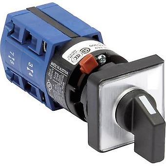 Kraus & Naimer CG4 A212-621 FS2 Isolator switch 10 A 2 x 60 ° Grey, Black 1 pc(s)