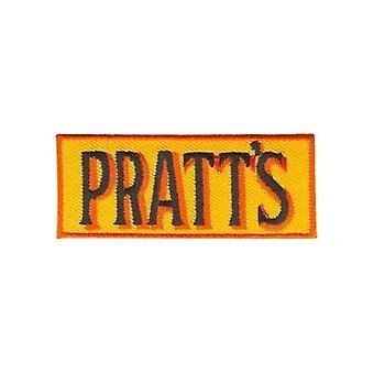 Pratts (Petrol) Iron-On/Sew-On Cloth Patch
