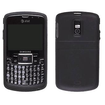 AGF Premium Black Gel Skin Case for Samsung Jack SGH-i637