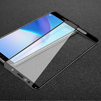 Per premio Huawei Y5 2018 3D 0,3 mm H9 vetro duro diapositiva nera protezione cover nuovo