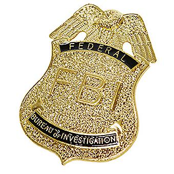 FBI merk gouden badge accessoire carnaval COP
