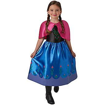 Anna frosset klassisk kjole kostyme for barn Anna og ELSA