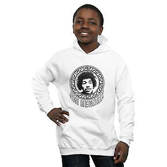 Jimi Hendrix Boys Pattern Circle Hoodie