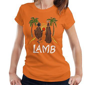 Must Read Book Covers Lamb Women's T-Shirt
