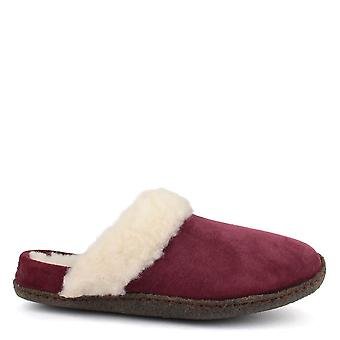 Sorel Nakiska Rich Wine Suede Ii Slide