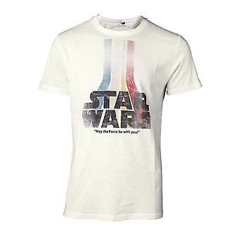Star Wars T-Shirt retro Rainbow logo