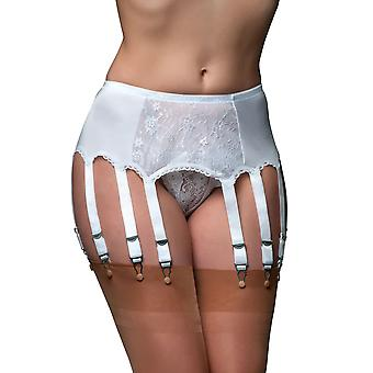 Nylon Dreams NDL13 Women's Garter Belt 12 Strap Suspender Belt