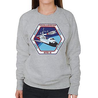 NASA STS 6 Space Shuttle Challenger Mission Patch Women's Sweatshirt