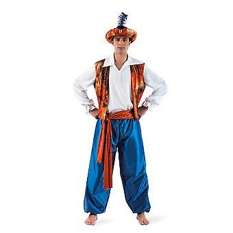 Tuareg Aladin hombres traje traje de Sultan otomano Señor