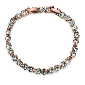 Oliver Weber Bracelet Tennis Rhodium Crystal
