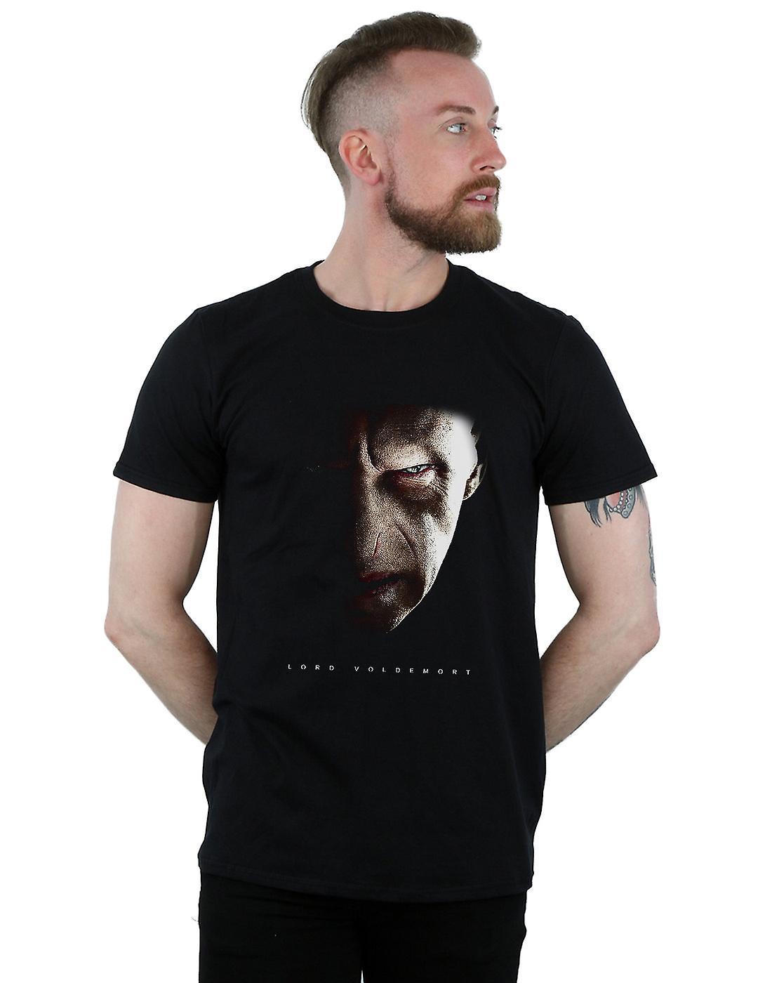 Harry Potter Men's Lord Voldemort Portrait T-Shirt