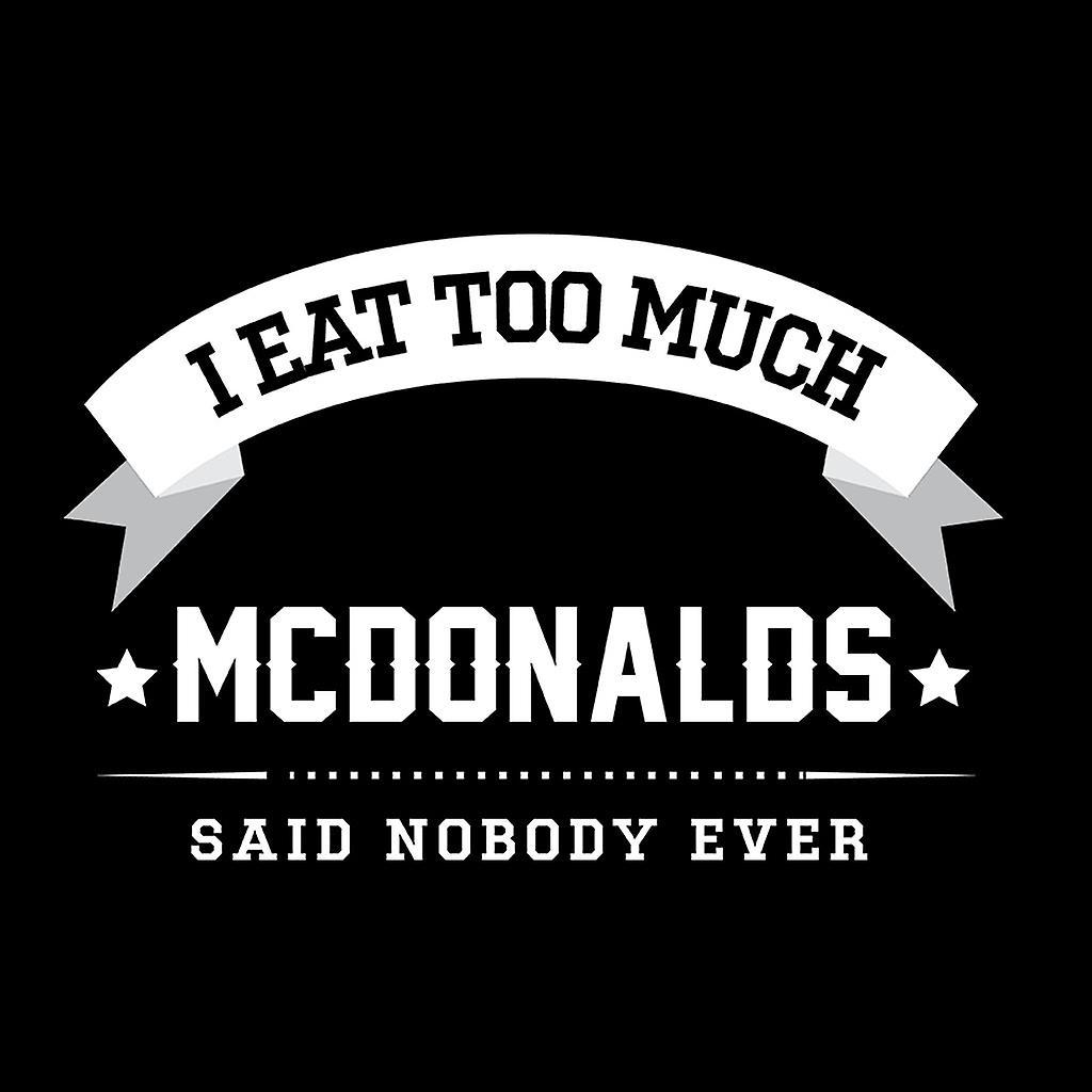 Ich esse auch McDonalds, sagte niemand jemals Kinder College