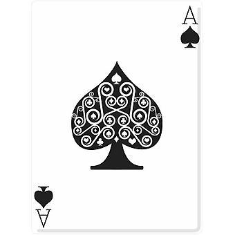 Ace of Spades (Poker-Nacht) - Lifesize Karton Ausschnitt / f