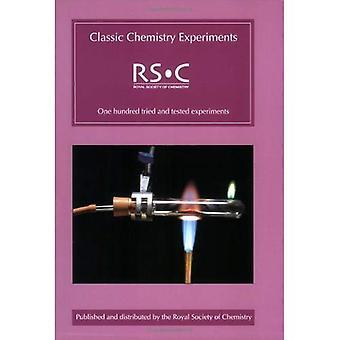 Klassieke scheikundige experimenten