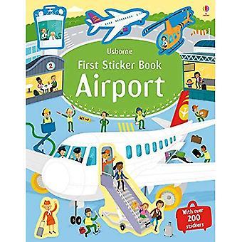 Første klistremerke bok flyplasser (første klistremerke bøker)