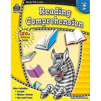 Compréhension en lecture, Grade 2 [avec 180 + autocollants] (prêts-ensemble-apprendre)