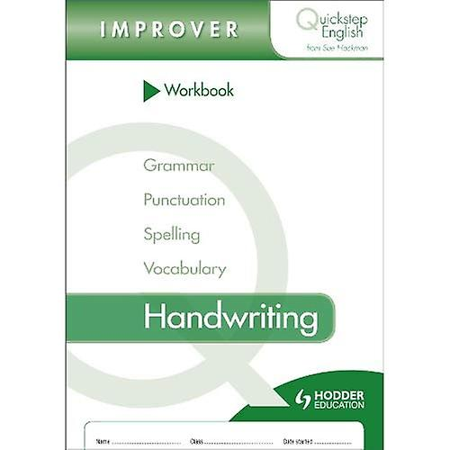 Quickstep English Workbook Handwriting Improver Stage (pack of 10)