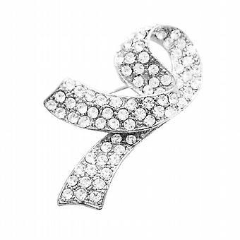 Borst kanker broche volledig ingebed met kristallen tegen betaalbare prijs