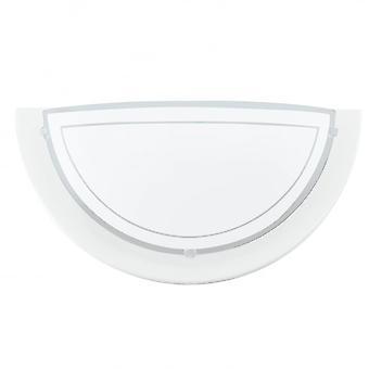Eglo planety Uplighter biała ściana z szkło satynowane
