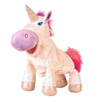 Unicorn hånd marionet