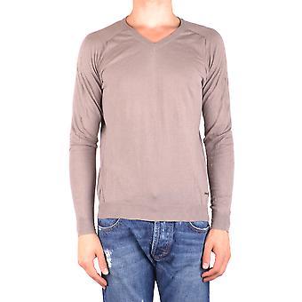 Costume National Ezbc066057 Men's Beige Cotton Sweater