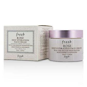 Fresh Rose Deep Hydration Face Cream - Normal To Dry Skin Types - 50ml/1.6oz