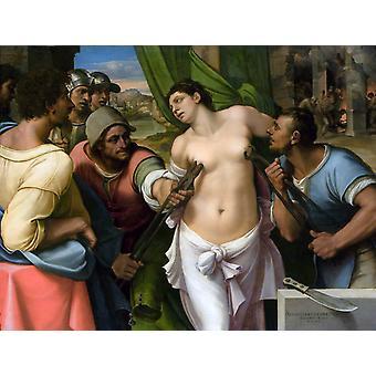 القديس أغاثا ، سيباستيان ديل بيومبو ، 50x38cm