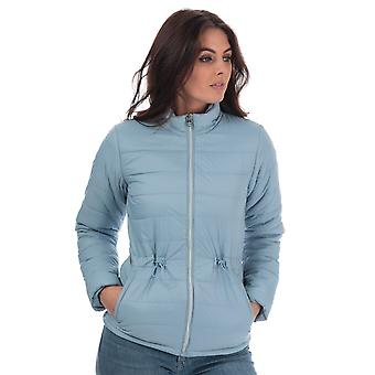 Womens Tokyo Laundry Syros Light Packaway Jacket In Blue Frog