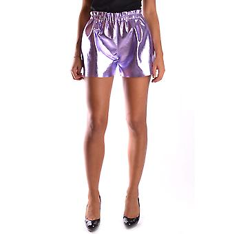 Ab Positive Ezbc244002 Women's Purple Nylon Shorts