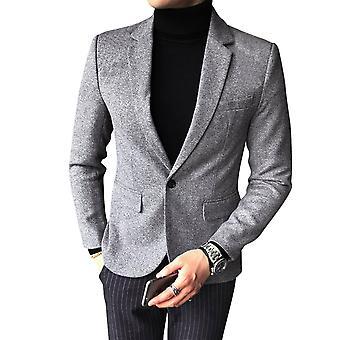 Allthemen Men's Suit Jacket Business Casual Slim Fit Blazer