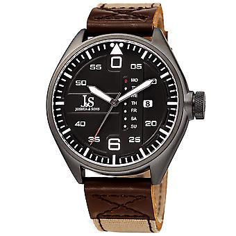 Joshua & sonâ €™ s JX145BR designer menâ €™ s Watch â €