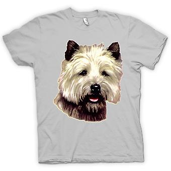 Mens T-shirt - Cairn Terrier Pet - Dog