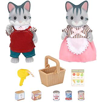 Sylvanian familier supermarked ejere